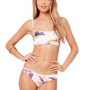 L*space bikini top & bottom